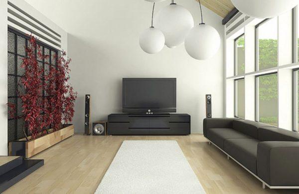Стиль минимализма визуально увеличивает пространство в комнате