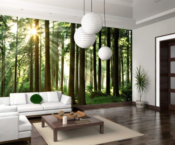 Отличное решение для дизайна стен - фотообои