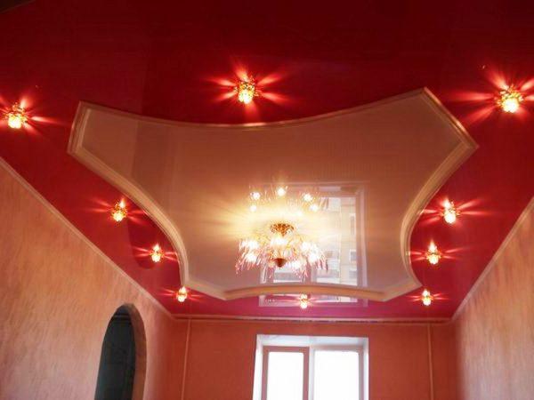 Натяжные потолки - современный дизайн вашего дома
