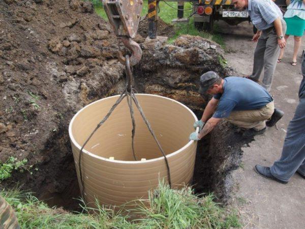 строительство колодца