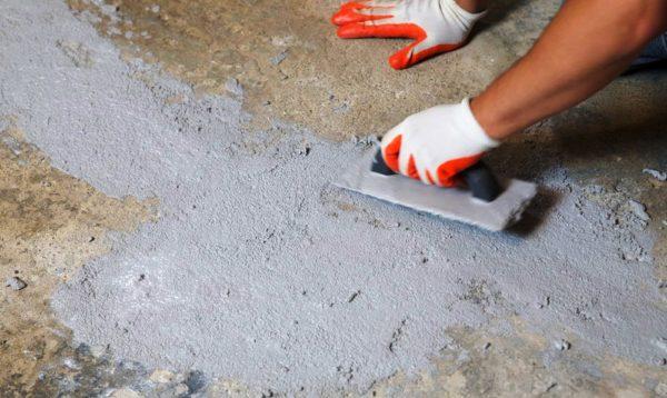Ремонт бетонного покрытия