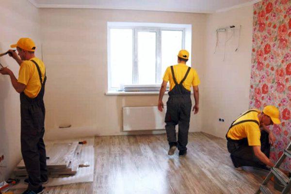 Внутреннюю отделку квартиры лучше доверить специалистам