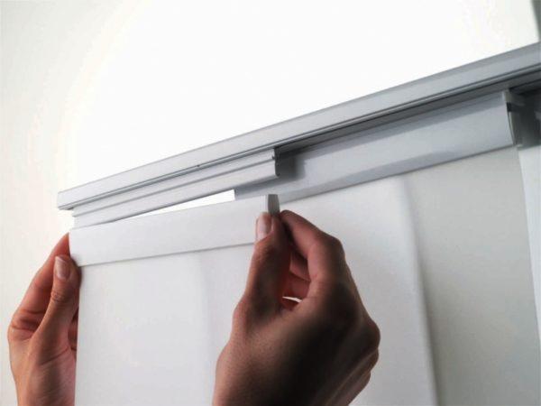 Японские шторы можно сделать своими руками