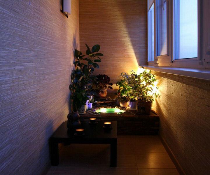 Как сделать освещение на лоджии твой дом.
