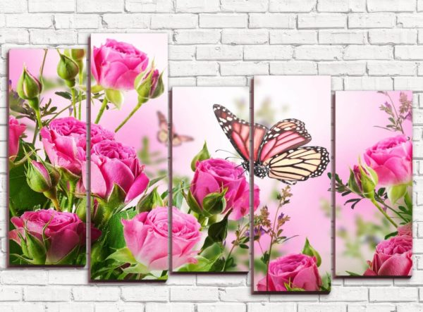 Мы играли с цветами ... Просто потому, что мы любим их. Позвольте себе быть вдохновленными. Романтизм, красота и изысканность ... Цветы создают все это. И именно поэтому мы обожаем цветочные картины.