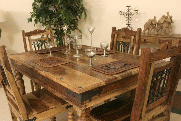 мебель из массива в ресторане
