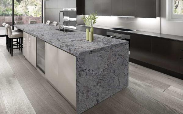 Камень ханекс в интерьере кухни