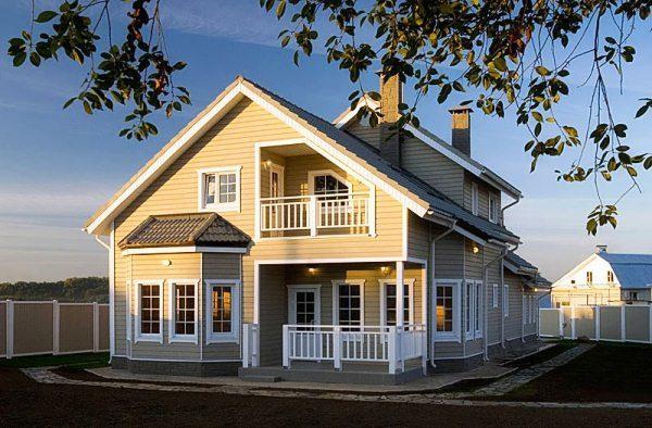 Каркасные дома экологичны.