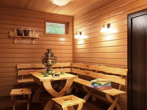 После посещения сауны можно отдохнуть в помещении для отдыха 20 минут, остыть, выпить чашечку хорошего чая