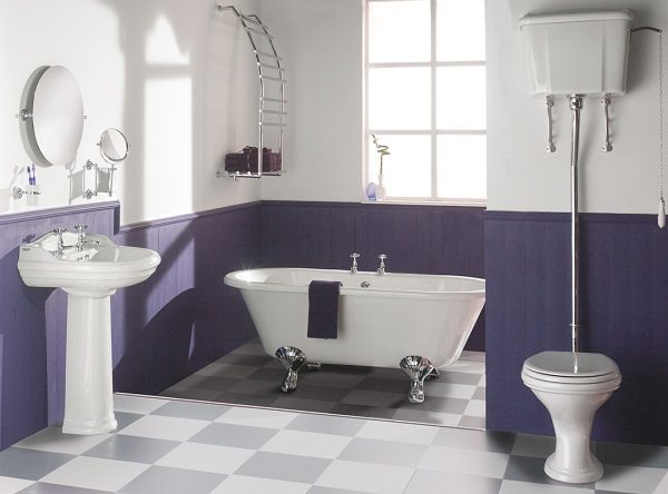 Краска для стен и пола в ванной комнате
