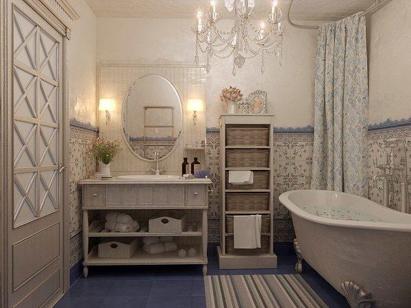 французские ванны в интерьере
