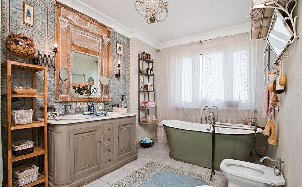 Этнический стиль для ванной