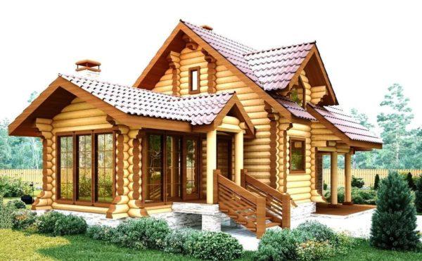 Стены из бревна не требуют дополнительной отделки, и многие владельцы деревянных домов, сохраняющие дедовские традиции, не отделывают бревенчатые фасады и внутренние стены, сохраняя естественную красоту