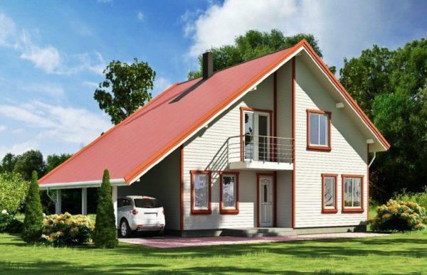 Каркасные дома пользуются все большей популярностью