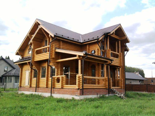 В деревянном доме всегда тепло и уютно