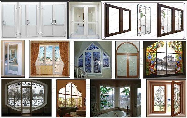 композитные окна и двери