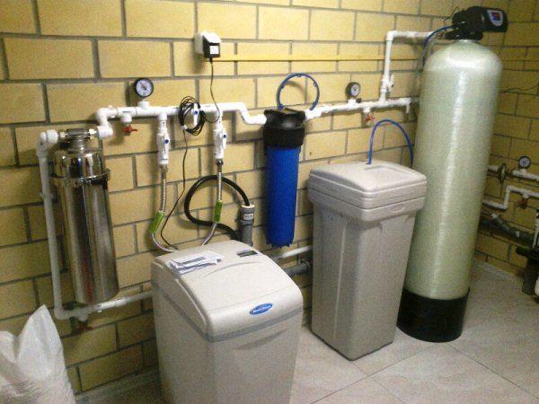 Автоматический фильтр-умягчитель для очищения воды