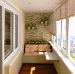 Как превратить балкон в место для отдыха 4