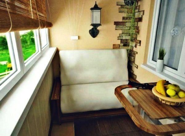 Как превратить балкон в место для отдыха
