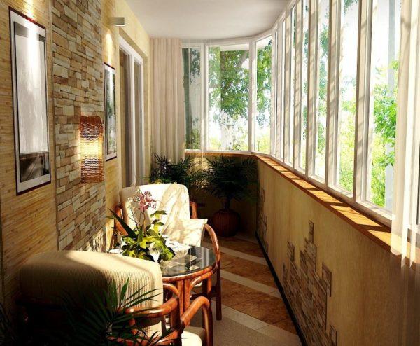 Как превратить балкон в место для отдыха 2
