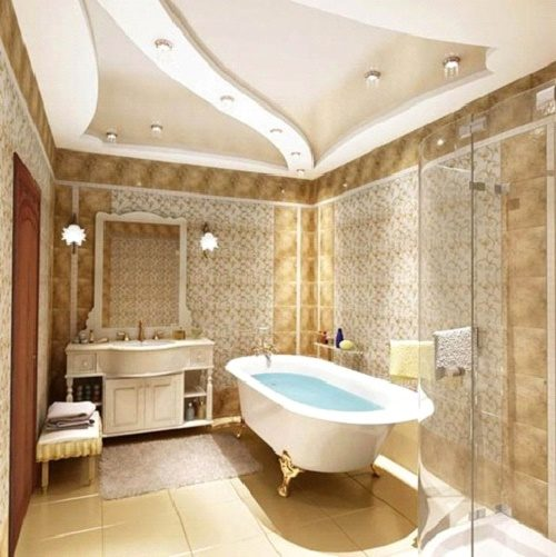 appearance-bath-with-plasterboard-ceilings-6557351
