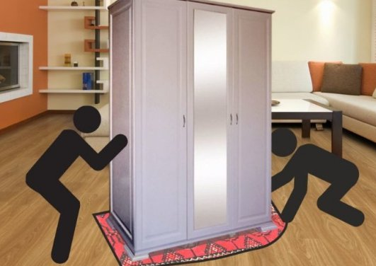 Как двигать мебель