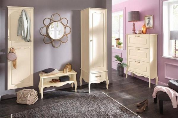 дизайнерская мебель в стиле прованс для прихожей