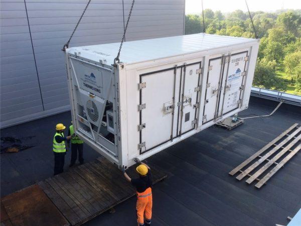 Морской контейнер рефрижатор перевозка товаров