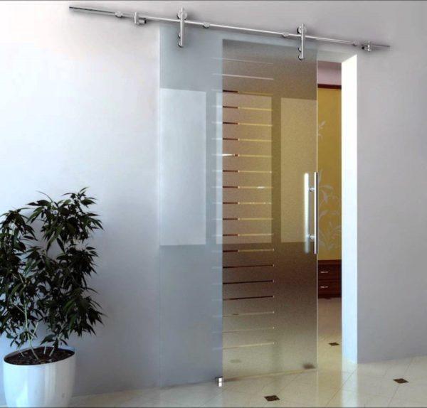 Межкомнатные двери из стекла 2