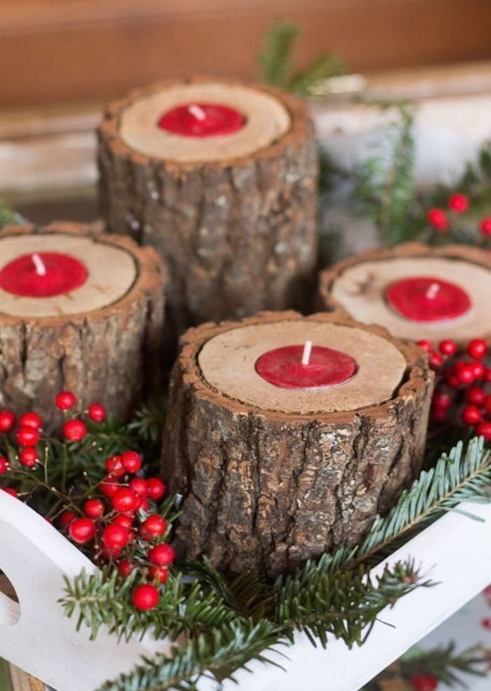rustic-wood-candle-holders-with-red-tea-lights-5168142