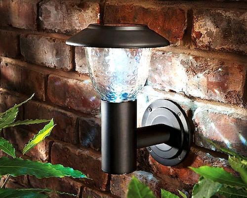 Садовые светильники на даче