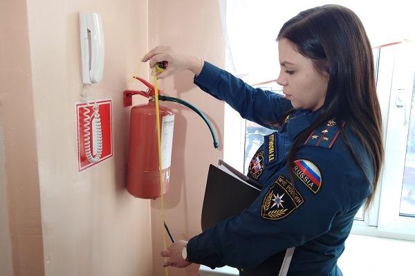 Инспектирование объектов повышенной пожарной опасности