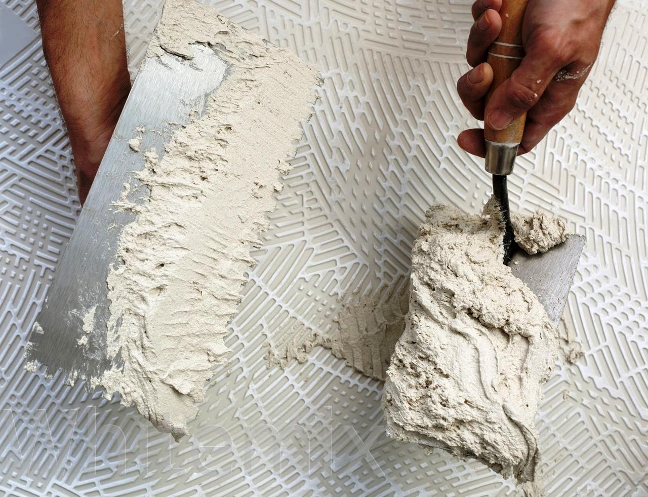 Использование сухих смесей в ремонте