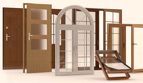 материалы для производства окон и дверей