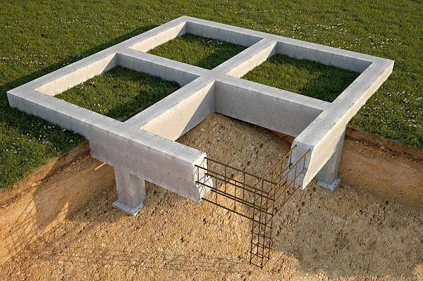 Типы фундаментов под строительство деревянного дома