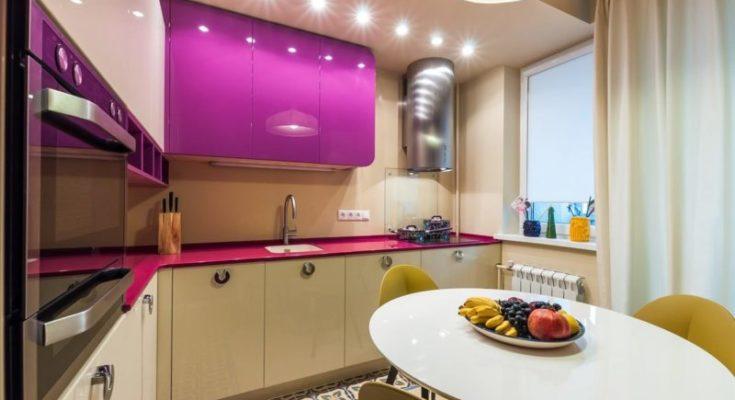 Дизайн проект интерьера кухни