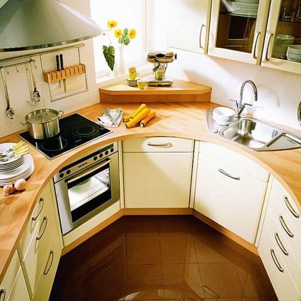 Функциональность малогабаритной кухни