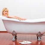 Как выбрать ванну под свой рост
