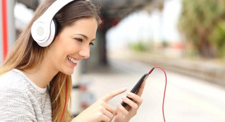 Музыка на телефоне