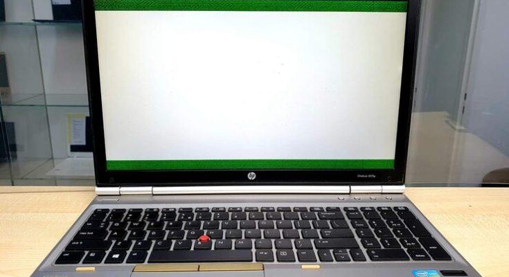 Белый экран на ноутбуке - самые частые причины